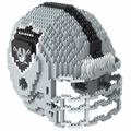 Oakland Raiders NFL 3D Helmet BRXLZ Puzzle By Forever Collectibles