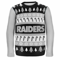Oakland Raiders NFL Ugly Sweater Wordmark