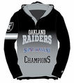 Oakland Raiders Super Bowl XI Champions Poly Hoody Tee