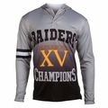 Oakland Raiders Super Bowl XV Champions Poly Hoody Tee