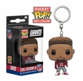 Odell Beckham Jr. (New York Giants) NFL Funko Pop! Keychain