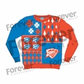 Oklahoma City Thunder NBA Ugly Sweater BusyBlock