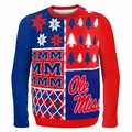 Ole Miss Ugly College Sweater BusyBlock