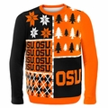 Oregon State Ugly College Sweater BusyBlock