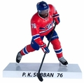 "P.K. Subban (Montreal Canadiens) 2015 NHL 6"" Figure Imports Dragon Wave 1"