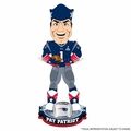 Pat The Patriot Mascot (New England Patriots) Super Bowl XLIX Champ NFL Bobble Head Forever Collectibles