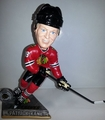 Patrick Kane (Chicago Blackhawks) 2015 Springy Logo Action Bobble Head Forever Collectibles