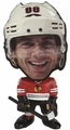 "Patrick Kane (Chicago Blackhawks) NHL 5"" Flathlete Figurine"