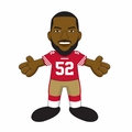 "Patrick Willis (San Francisco 49ers) 10"" Player Plush Bleacher Creatures"