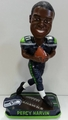 Percy Harvin (Seattle Seahawks) Forever Collectibles 2014 NFL Springy Logo Base Bobblehead