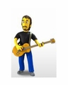 "Pete Townshend ""The Who"" (The Simpsons 25th Anniversary) 5"" Action Figure Series 2 NECA"