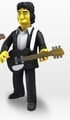 "Peter Buck (R.E.M.) (The Simpsons 25th Anniversary) 5"" Action Figure Series 3 NECA"