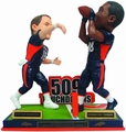Peyton Manning/Demaryius Thomas (Denver Broncos) Record Breaking Touchdown Pass Bobble Head Forever #/509
