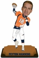 "Peyton Manning (Denver Broncos) 2015 NFL Real Jersey 10"" Bobble Heads Forever Collectibles"