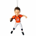 Peyton Manning (Denver Broncos) Forever Collectibles NFL Player Ornament