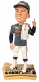 Peyton Manning (Denver Broncos) T-Shirt/Hat/Towel Newspaper Base Super Bowl Champ NFL Bobble Head Exclusive