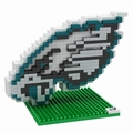 Philadelphia Eagles NFL 3D Logo BRXLZ Puzzle By Forever Collectibles