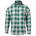 Philadelphia Eagles NFL Checkered Men's Long Sleeve Flannel Shirt