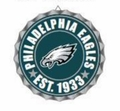 Philadelphia Eagles NFL Wall Decor Bottlecap Collection by Forever Collectibles