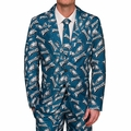 Philadelphia Eagles NFL Repeat Logo Ugly Business Suit by Forever Collectibles