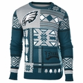 Philadelphia Eagles Patches NFL Ugly Sweater by Klew
