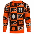 Philadelphia Flyers 2016 Patches NHL Ugly Crew Neck Sweater by Forever Collectibles
