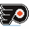 Philadelphia Flyers NHL 3D Logo BRXLZ Puzzle By Forever Collectibles