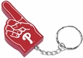 Philadelphia Phillies #1 Foam Finger Keychain