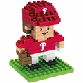 "Philadelphia Phillies MLB 3D 2"" Player BRXLZ Puzzle By Forever Collectibles"