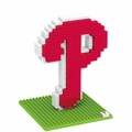 Philadelphia Phillies MLB 3D Logo BRXLZ Puzzles By Forever Collectibles