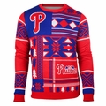 Philadelphia Phillies Patches MLB Ugly Sweater by Klew