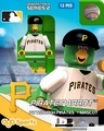 Pirate Parrot Mascot (Pittsburgh Pirates) MLB OYO Sportstoys Minifigures G4LE