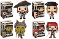 Pirates of the Carribean Funko Pop! Complete Set of 4