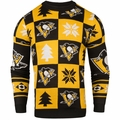 Pittsburgh Penguins 2016 Patches NHL Ugly Crew Neck Sweater by Forever Collectibles