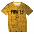 Pittsburgh Pirates Big Logo Half Tone Tee by Forever Collectibles