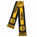 Pittsburgh Steelers 2016 NFL Big Logo Scarf By Forever Collectibles
