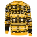 Pittsburgh Steelers Aztec NFL Ugly Crew Neck Sweater