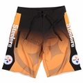 Pittsburgh Steelers Gradient NFL Board Shorts