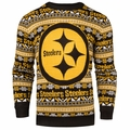 Pittsburgh Steelers NFL 2016 Aztec Ugly Crew Neck Sweaters by Forever Collectibles