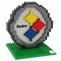 Pittsburgh Steelers NFL 3D Logo BRXLZ Puzzle By Forever Collectibles