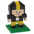 Pittsburgh Steelers NFL 3D Player BRXLZ Puzzle By Forever Collectibles