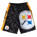 Pittsburgh Steelers NFL Big Logo Polyester Short