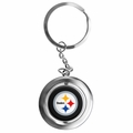 Pittsburgh Steelers NFL Spinner Keychain