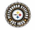 Pittsburgh Steelers NFL Wall Decor Bottlecap Collection by Forever Collectibles
