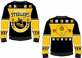 Pittsburgh Steelers Retro Cotton Sweater by Klew