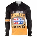 Pittsburgh Steelers Super Bowl XL Champions Poly Hoody Tee