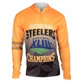 Pittsburgh Steelers Super Bowl XLIII Champions Poly Hoody Tee