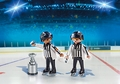 Playmobil NHL Referees with Stanley Cup