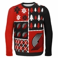 Portland Trail Blazers NBA Ugly Sweater Busy Block