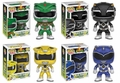 Power Rangers Funko Pop! Complete Set (4)